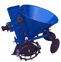 Картофелесажалка ДТЗ КСМ-1Ц (синяя)