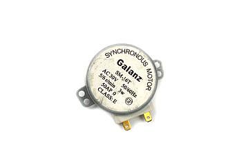 """Двигатель тарелки для микроволновой печи """"GALANZ"""" 30V 3W (пластиковый вал 14 мм)"""