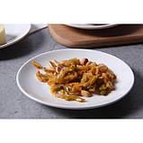 Керамическая тарелка блюдце 14 см стильный рисунок, набор 4шт., фото 10