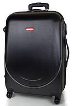 Средний 4-колесный пластиковый чемодан 65 л. GRAVITT Gp00032 черный