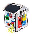 Домик развивающий GoodPlay 28х28х35 с подсветкой B006, фото 3