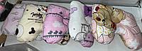 Детская ортопедическая подушка для новорожденных Бабочка, 30х25 см
