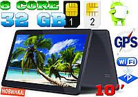 Планшет-телефон Samsung Tab light 10 2Sim,GPS,3G,32GB, навигатор + ПОДАРОК КОРЕЯ!