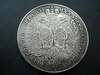 Монета Альбертусталлер 1753 год монета для Немецких княжеств Петр №097 копия