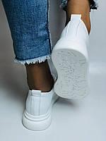 Farinni. Натуральная кожа. Женские белые кеды-кроссовки. Размер 37.38.39.40, фото 7