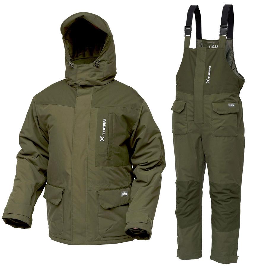 Костюм зимовий -20° DAM Xtherm Winter Suit куртка+напівкомбінезон XL