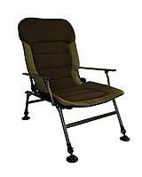 Большое карповое кресло для рыбалки кемпинга пикника Novator Vario Elite XL