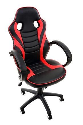 Геймерське крісло Vecotti чорно-червоне