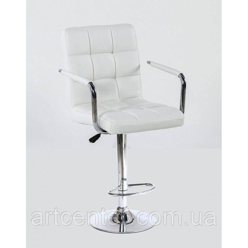 Кресло для визажиста Milan с регулировкой высоты и подлокотниками, кожзам