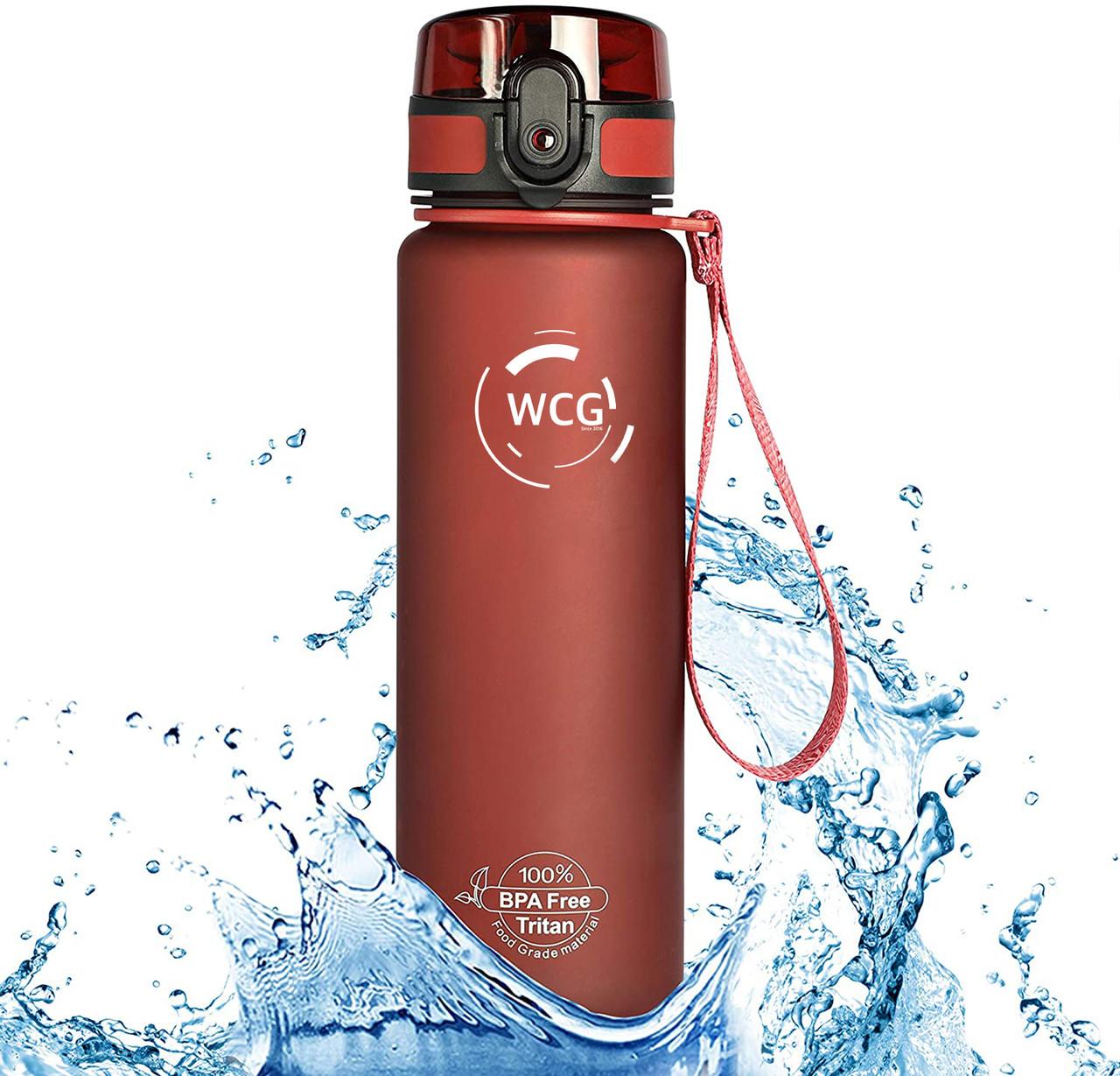 Пляшка для води WCG Red 1 л