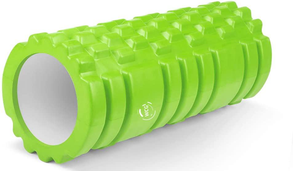 Массажный валик WCG  K1 Роллер Зелёный цвет