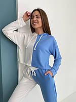 Женский спортивный двухцветный костюм 03 (42-44; 46-48) СП, фото 1