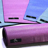 Коврик для йоги и фитнеса (йога мат)  WCG M6 Фиолетовый, фото 2
