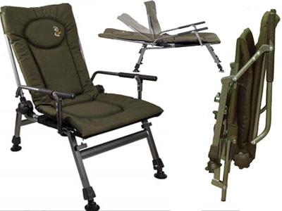 Кресло карповое рыбацкое ELEKTROSTATYK F5R с подлокотниками , 2020 новая модель ! Польща