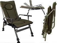 Кресло карповое рыбацкое ELEKTROSTATYK F5R с подлокотниками , 2020 новая модель ! Польща, фото 1