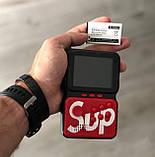 Игровая консоль приставка GAME BOX на 900 игр dendy 16bit портативная ретро красная, фото 8