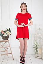 Сукня ТМ ALL POSA Вірджинія червоний 46 (4773-3)