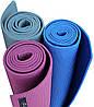 Килимок для йоги та фітнесу (йога мат) WCG M6 зелений, фото 5