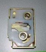Механизм дверного замка наружный правый (шоколадка) ГАЗЕЛЬ ( бесшумный) <пр-во Россия>