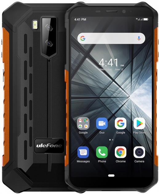 Смартфон Ulefone Armor X5 4/64 Black Orange