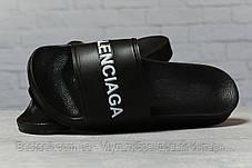 Шлепанцы мужские 17381, Balenciaga, черные, [ 42 43 ] р. 42-26,8см., фото 3