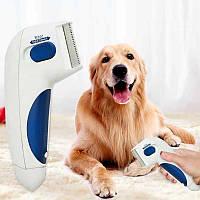 Электрическая расческа от блох Flea Doctor / Расческа для кошек собак
