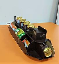 """Органайзер підставка для пива і снеків """"Підводний човен"""" з гравіюванням"""
