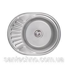Кухонная мойка Lidz 6044 Satin 0,6 мм (LIDZ604406SAT)
