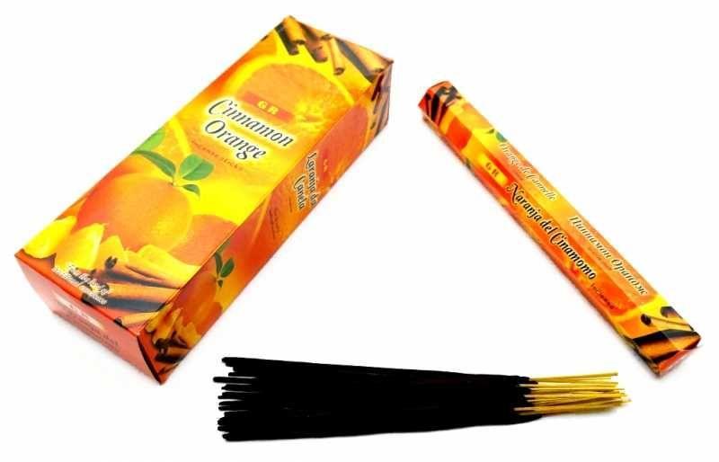 Ароматичні палички GR CINNAMON ORANGE Кориця з апельсином