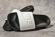 Шлепанцы мужские 17583, Nike, белые, [ 40 42 43 ] р. 40-26,7см., фото 3