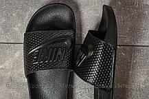 Шлепанцы мужские 17584, Nike, черные, [ 45 ] р. 45-29,8см., фото 3