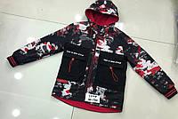 Двостороння весняна курточка на хлопчика розмір 110-134