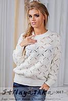 Женская свитер Деми молоко, фото 1
