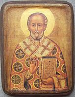 Икона Николай Чудотворец 17в.