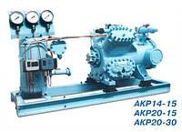 Компрессорно-ресиверный агрегат АКР20-15