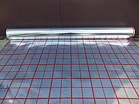 Пленка фольгированная с разметкой для теплого пола (теплоотражающий материал)