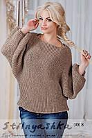 Женская свитер Летучка мокко, фото 1