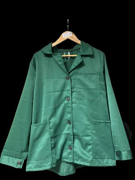 Костюм жіночий робочий зелений