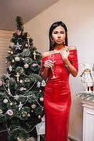 Платье в пол паетки №0442 (ФК)