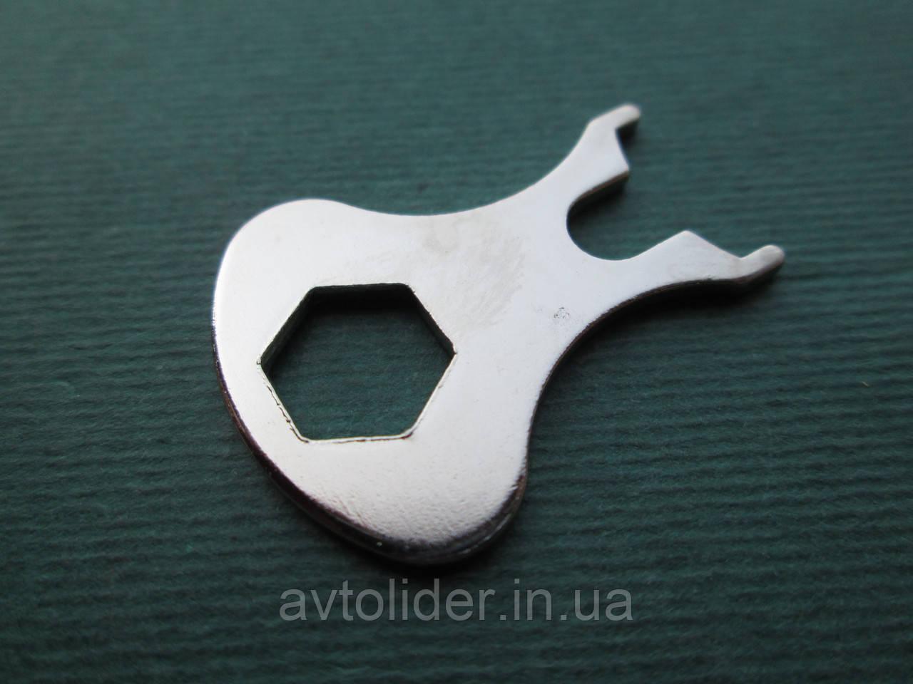 LOXX - никелированный ключ для тентовой кнопки
