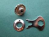 LOXX - никелированный ключ для тентовой кнопки, фото 2