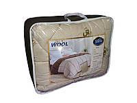 Одеяло шерстяное микрофибра полуторное 150х210