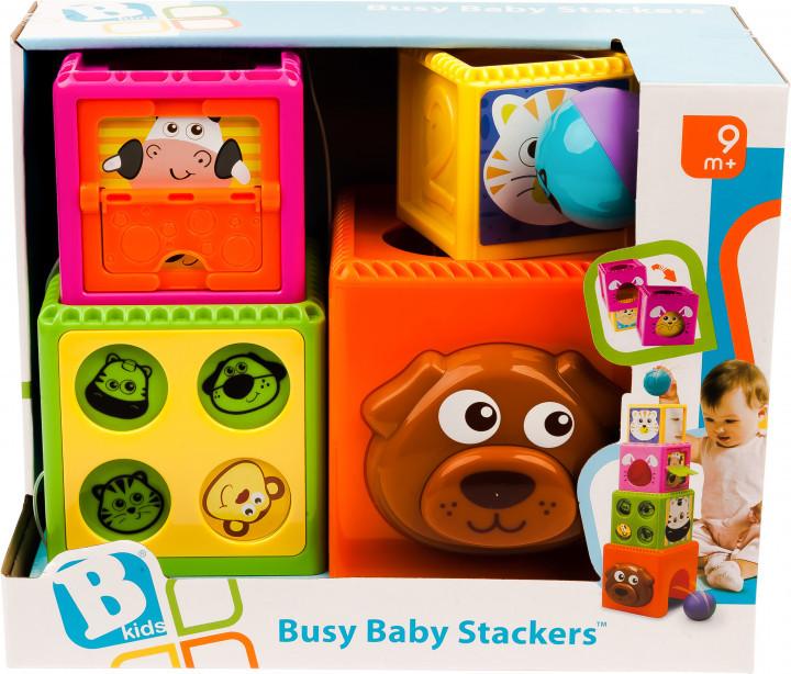 Развивающая игрушка Занимательные блоки Sensory B kids (003066S)