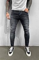 Чоловічі турецькі джинси чорні молодіжні чоловічі джинси, брюки(розмір 29,31,34), фото 1