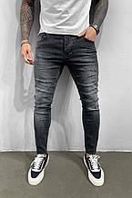 Мужские турецкие джинсы черные молодёжные чоловічі джинси брюки(размер 29,31,34)