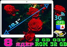 Планшет телефон Galaxy TAB 10 2Sim, GPS,3G, 2/32GB, навигатор +  ПОДАРОК! КОРЕЯ!