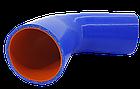 Патрубок (150 мм х 150 мм) (135` - угол) (d=70 толщ = 4 мм), фото 2