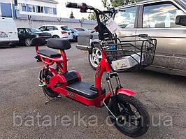 Електроскутер Honda Dio 350w комплектація з педалями