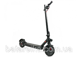 """Складной двухколесный электросамокат для взрослых и детей Crosser E9 Premium Чёрный 7.8Ah/500W Air 10"""" Inch"""