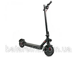 """Складний двоколісний електросамокат для дорослих та дітей Crosser E9 Premium Чорний 7.8Ah/500W Перфорація 10"""" Inch"""